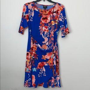 Floral medium petite dress